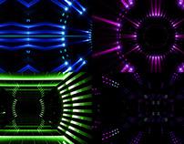 Neon Led Stage - VJ Loop Pack (4in1)