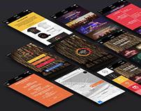 App Design: Seoul International Fireworks Fest 2017
