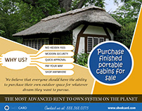 Purchase Finished Portable Cabins For Sale   888.368.03