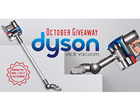 Email & Social Promo - Dyson Giveaway for GCN