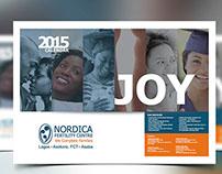 Proposed Calendar Design for Nordica Fertility Centre