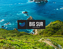 Big Sur, California Branding (Concept)