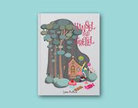 Hansel and Gretel Book Cover Illustration