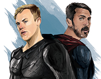 Super Hero ( Neuer - Buffon )