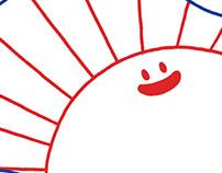 Smiley Sun !