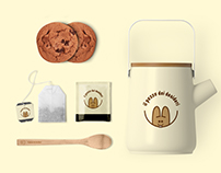 """Il pozzo dei desideri """"wishing well""""  Logo for Branding"""