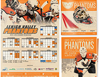 2015-2016 Lehigh Valley Phantoms Print Design