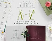[Spring Vibes] A-Z logo designs