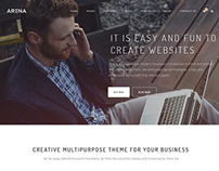 Arena Multipurpose WordPress Theme