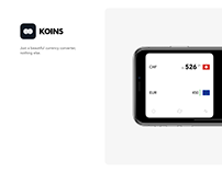 Koins - Simple currency converter