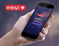 Enjoyit App by Sístole
