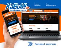 KaBuM! | Redesign E-commerce | UI Design