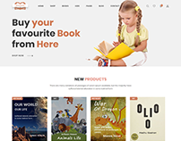 Boighor – Books Library eCommerce Store