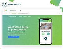 SnapRevise Website, Web&Mobile Application