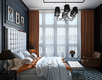 Architectural Rendering: Air Project For Bedroom In New