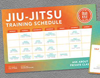 Dojo Kyle Training Schedule and VIP Card