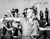 Aula de dança contemporânea com Christiana Sarasidou