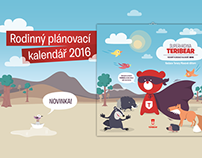 TERIBEAR familly planner - illustrations
