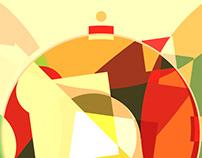 christmass fruitcake — loop animation