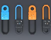 Bike lock for STRart company