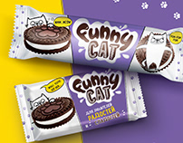 Funny cat - for lovers of joy and sweets!