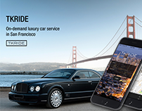 TKRIDE on-demand luxuy car service
