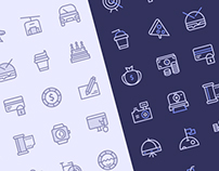 Freebie: Birply icon set (40 items)
