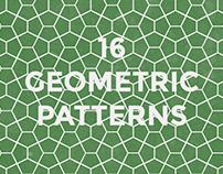 16 geometric pattern set