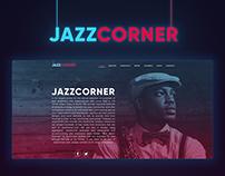 JazzCorner | Website Redesign