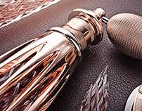 Dorée - luxury perfume atomizer concept.