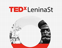 TEDxLeninaSt branding