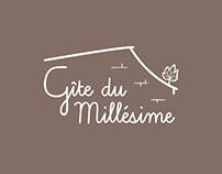 "Logo - ""Gîte du Millésime"""
