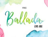 BALLADA - FREE FONT DUO