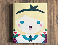 Cover Alice in Wonderland - Children's Book