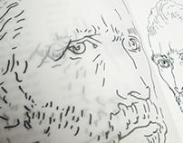 Portrait (artistic book about image deconstruction)