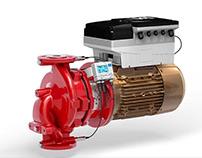 Produktvisualisierung Inline-Pumpe