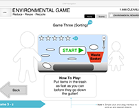 Game for DWP teaching kids to recycle.