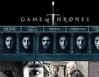 Site Game Of Thrones (Criação em Blocos)