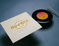 Hard Rock Paper Vinyl Player