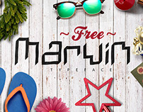 FREE MARVIN FONT