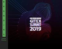 Yasser ads for Gitex Summet - tech art direction