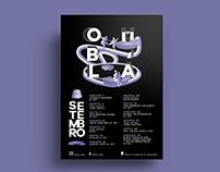 Poster for Oub'lá Bar | Patricia Marinho