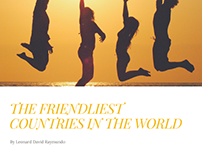 The Friendliest Countries in the World