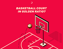 Study: Basketball court in Golden Ratio?