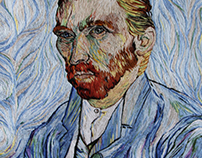 Embroidery  Vincent Van Gogh