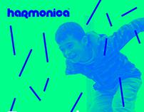 harmonica's Straw Festival Visual Identity