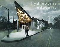 Design 6: Hydroponic Growing and Education Facility