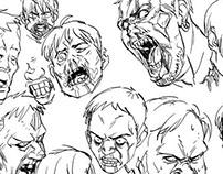 Zombie Head Studies
