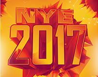 NYE 2017 Flyer & Poster