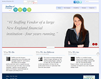 Intepros Consulting - Full corporate website redesign